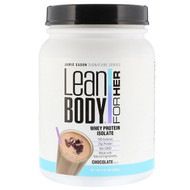 Jamie Eason, Lean Body for Her, Whey Protein Isolate, Chocolate, 1.49 lbs (680 g)