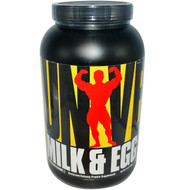 Universal Nutrition, Milk & Egg Protein, Chocolate Flavor, 3 lbs (1.36