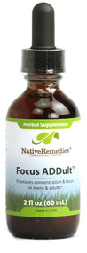 Native Remedies Focus ADDult - 2 fl oz