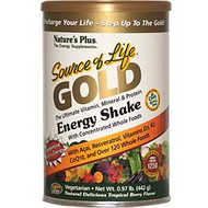 Nature's Plus, Source of Life Gold, Energy Shake, Tropical Berry Flavor, .97 lb (442 g)