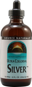 Source Naturals Ultra Colloidal Silver - 10 ppm - 8 fl oz