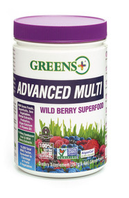 Greens Plus Advanced Multi Superfood Wild Berry - 9.4 oz