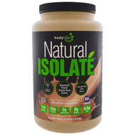 Bodylogix, Natural Isolate Whey Protein Powder, Decadent Chocolate, 30 oz (840 g)