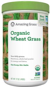 Amazing Grass, Organic Wheat Grass, 17 oz (480 g)