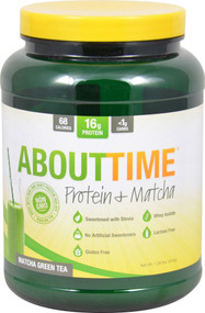 About Time Protein plus Matcha Green Tea - 1.5 lbs