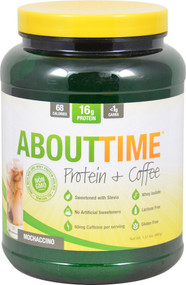 About Time Protein plus Coffee Mochaccino - 1.51 lbs