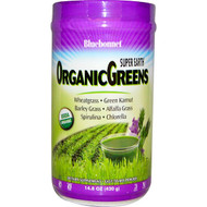 Bluebonnet Nutrition, Super Earth, Organic Greens Powder, 14.8 oz (420 g)