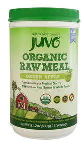 Juvo Organic Raw Meal Green Apple - 21.2 oz