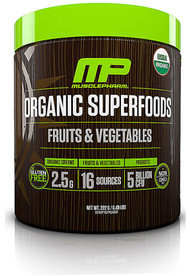 MusclePharm Organic Superfoods Unflavored - 30 Servings