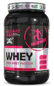 Midway Labs Military Trail Whey Milk Chocolate - 30 Servings