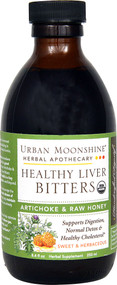 Urban Moonshine Organic Healthy Liver Bitters - 8.4 fl oz