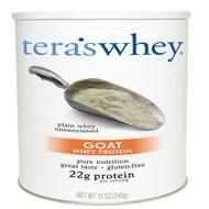 Teras Whey, Goat Whey Protein, Plain Whey Unsweetened, 12 oz (340 g)