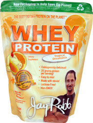 Jay Robb Whey Protein Isolate Tropical Dreamsicle - 24 oz