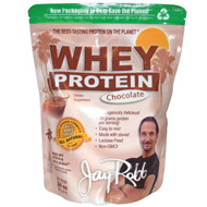 Jay Robb Whey Protein Isolate Chocolate -- 24 oz