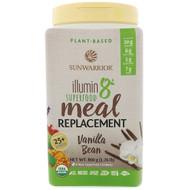 Sunwarrior, Illumin8, Plant-Based Organic Superfood Meal Replacement, Vanilla Bean, 1.76 lb (800 g)