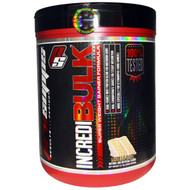 ProSupps, IncrediBulk, Super Weight Gainer Formula, Vanilla Cake, 5.7 lbs (2600 g)