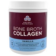 Dr. Axe / Ancient Nutrition, Bone Broth Collagen, Vanilla , 18.2 oz (517 g)