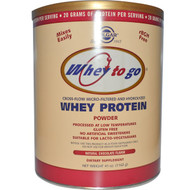 Solgar Whey To Go Whey Protein Powder Natural Chocolate -- 41 oz