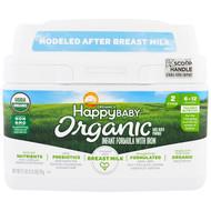Happy Family Organics, Organics Happy Baby, Infant Formula With Iron, Stage 2, 6-12 Months, 21 oz (595 g)