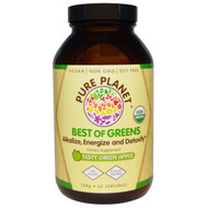 Pure Planet, Best of Greens, Tasty Green Apple, 158 g