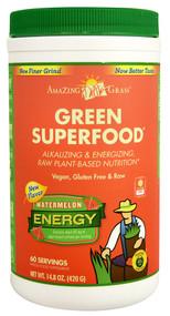 Amazing Grass, Green Superfood Energy Drink Powder,  Watermelon - 14.8 oz
