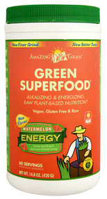 Amazing Grass Green Superfood Energy Drink Powder Watermelon -- 60 Servings
