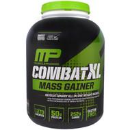 MusclePharm, Combat XL Mass Gainer, Chocolate, 6 lbs (2722 g)