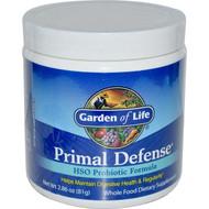 Garden of Life, Primal Defense, Powder, HSO Probiotic Formula, 2.86 (81 g)