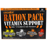 Grenade, Ration Pack Vitamin Support, 30 Daily Packs