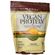 Dr. Mercola Vegan Protein Chocolate - 1 lb 6.5 oz