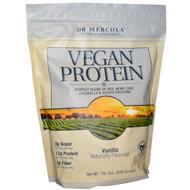 Dr. Mercola Vegan Protein Vanilla -- 1 lb 5 oz