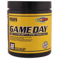 MAN Sports, Game Day, High Intensity Pre-Workout, Sour Batch, 8.99 oz (255 g)