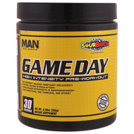 MAN Sports, Game Day, High Intensity Pre-Workout, Sour Batch, 8.99 oz (255 g)