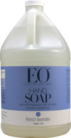 EO Essential Oil Products Liquid Hand Soap French Lavender -- 1 Gallon