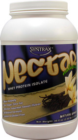 Syntrax Nectar Naturals Whey Protein Isolate Natural Vanilla - 2.5 lbs