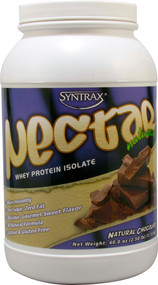 Syntrax Nectar Naturals Whey Protein Isolate Natural Chocolate - 2.5 lbs