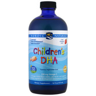 Nordic Naturals, Childrens DHA, Strawberry, 16 fl oz (473 ml)