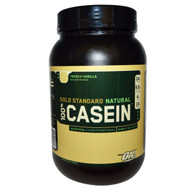 Optimum Nutrition, Gold Standard, 100% Casein, Natural, French Vanilla, 2 lb (909 g)