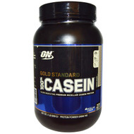 Optimum Nutrition, Gold Standard, 100% Casein, Cookie Dough, 2 lbs (909 g)