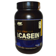 Optimum Nutrition, Gold Standard, 100% Casein, Banana Cream, 2 lbs (909 g)