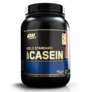 Optimum Nutrition, Gold Standard, 100% Casein, Strawberry Cream, 2 lbs (909 g)