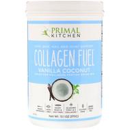 Primal Kitchen, Collagen Fuel, Grass-Fed Collagen Peptide Drink Mix, Vanilla Coconut, 13.1 oz (370 g)