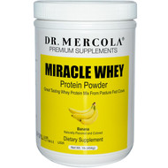 Dr. Mercola Miracle Whey Protein Powder Banana -- 1 lb