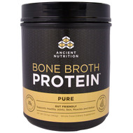 Dr. Axe, Ancient Nutrition, Bone Broth Protein, Pure, 15.7 oz (445 g)