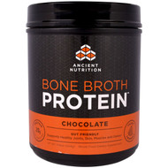 Dr. Axe / Ancient Nutrition, Knochenbr?he-Protein, Schokolade, 504?g