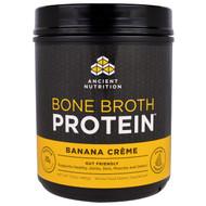 Dr. Axe, Ancient Nutrition, Bone Broth Protein, Banana Creme, 17.3 oz (490 g)