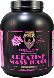 Healthy'N Fit Nutritionals Creatine Mass 10000 Heavenly Chocolate -- 5 lbs