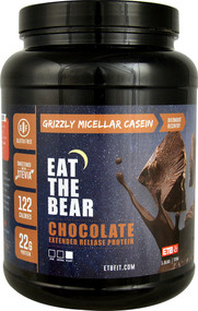 Eat The Bear Grizzly Micellar Casein Chocolate - 1.6 lbs