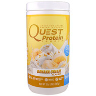 Quest Nutrition, Protein Powder, Banana Cream, 32 oz (907 g)