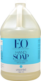 EO Essential Oil Products Liquid Hand Soap Unscented -- 1 Gallon